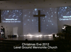 Christmas Service Ideas – Environmental Projection