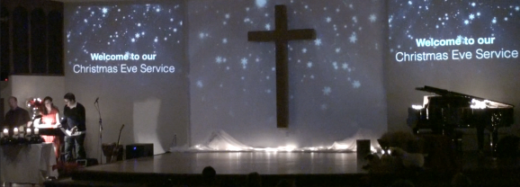 Christmas Service Ideas – Environmental Projection
