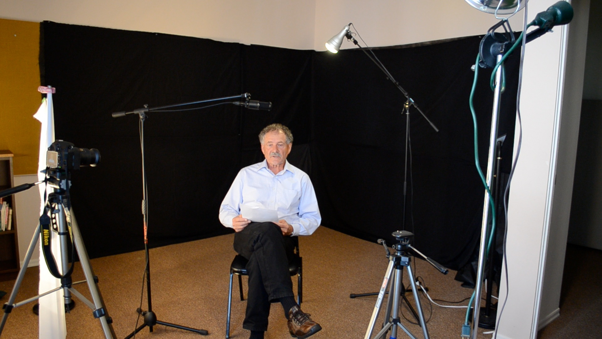 getting started creating videos for your church re think worship using a studio setup