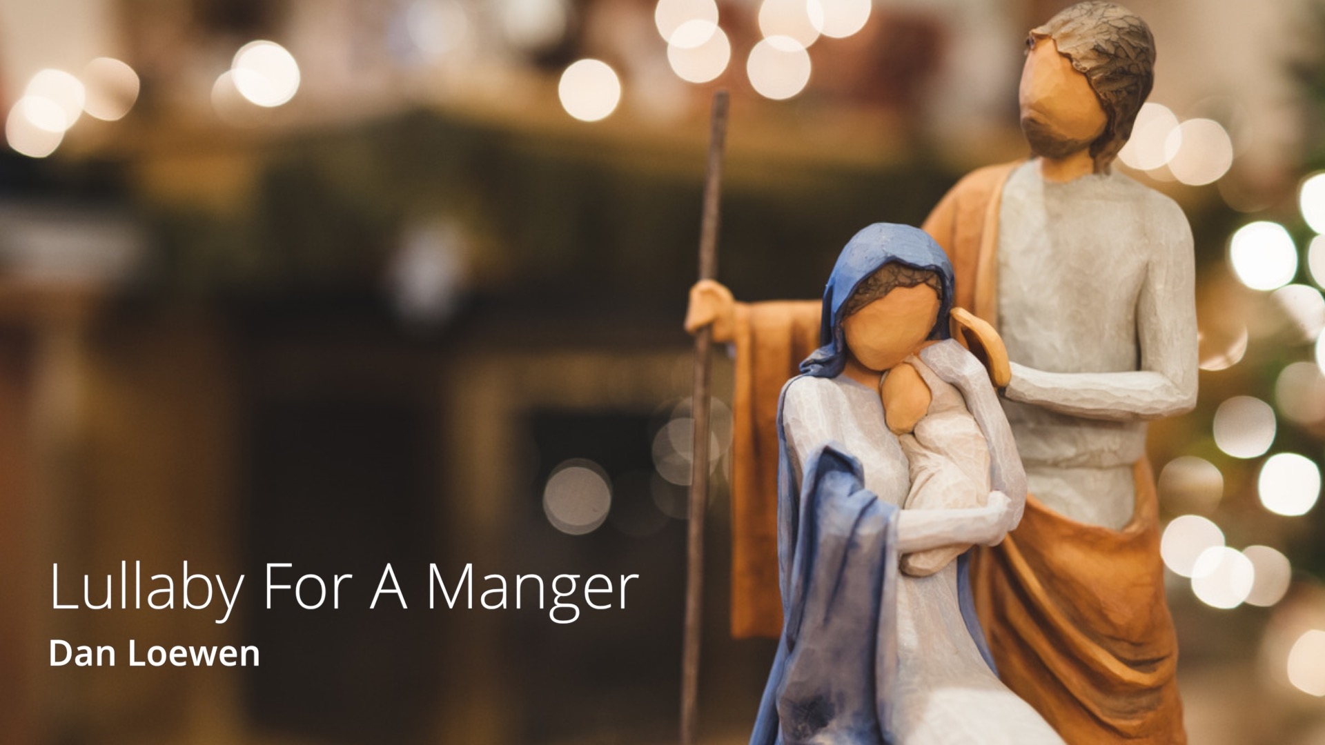 Acoustic Arrangment of Away In A Manger